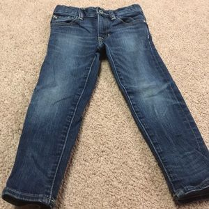 Excellent condition boys gap skinny jeans sz4